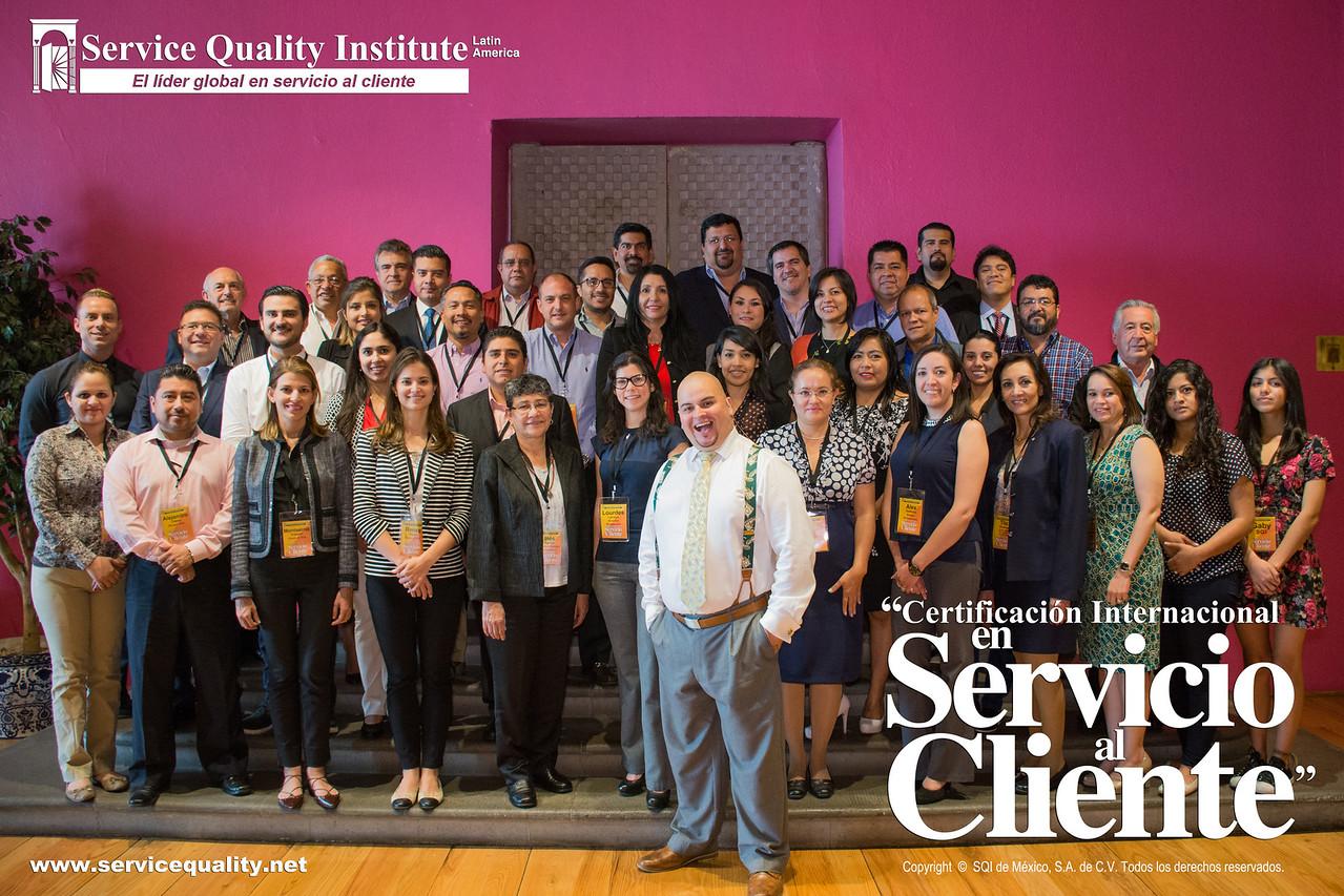 Seminario de Certificacion Internacional en Servicio al Cliente: Service Quality Institute Latin America, Ciudad de Mexico, mayo 2016
