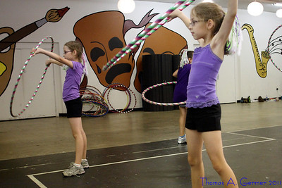Shooting Diamonds Hoop Troupe July 2011