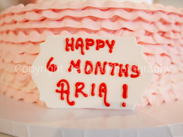 Aria 6 month B Day