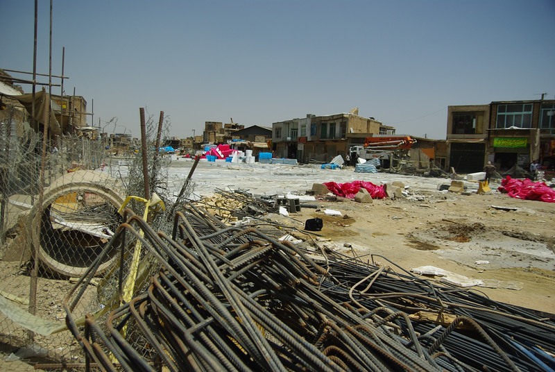 W centrum przebuowywuja plac Qeyam