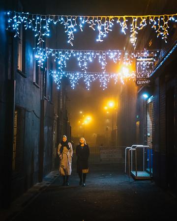 Foggy Night in Dublin