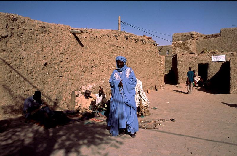 Toureg tribesman at Madrassa