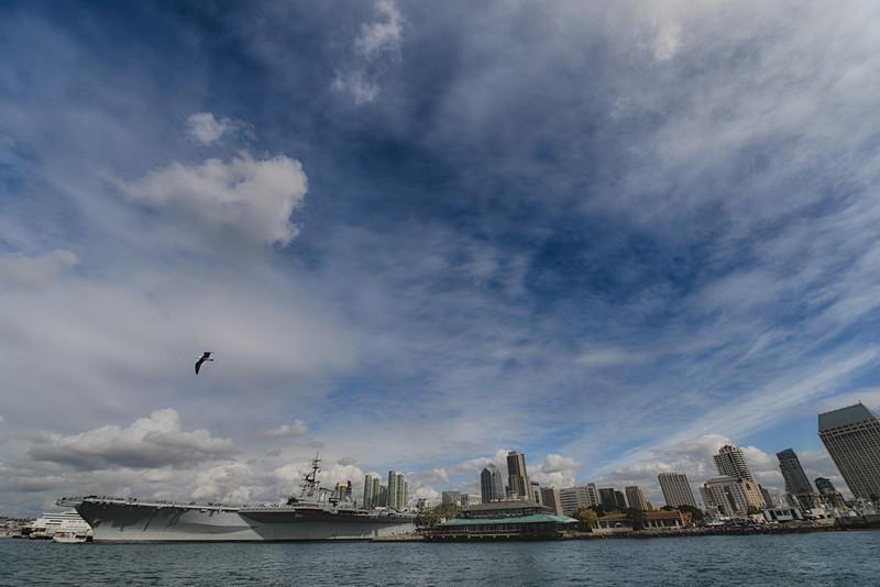 San Diego Naval Ship