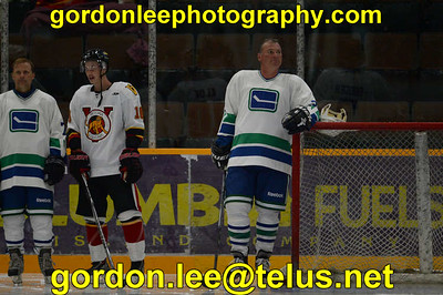 Vancouver Canucks Alumni  vs Victoria Jr  Hockey Club Sep 7 2014