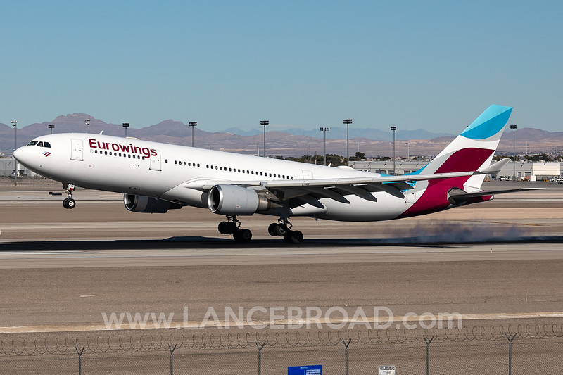 Eurowings A330-200 - D-AXGG - LAS
