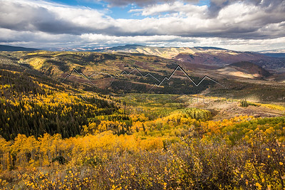 Fall Colors from Big Park, CO