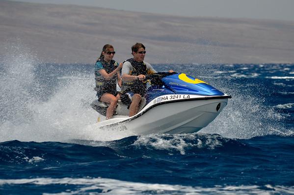 Maui JetSkiing - 2012