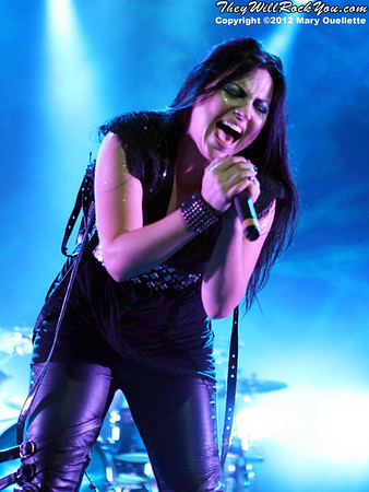 Evanescence <br> Carnival of Madness <br> August 30, 2012 <br> Mohegan Sun Arena - Uncasville, CT <br> Photos by: Mary Ouellette