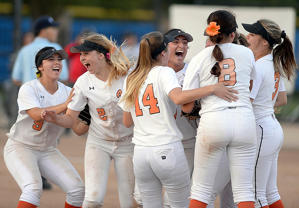 Vacaville High softball team completes Cinderella section title run