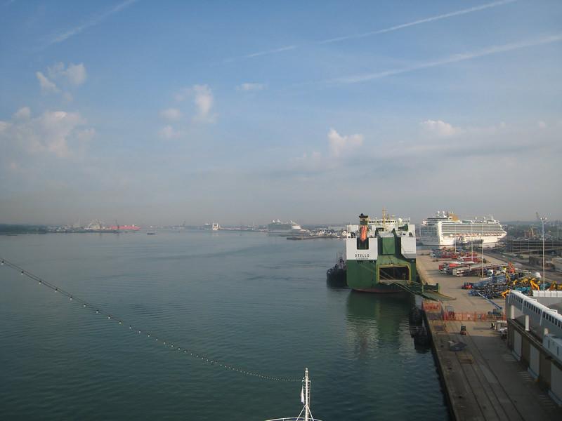 Southhampton port