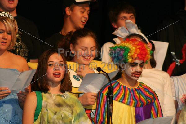 aquin halloween concert . 10.21.09