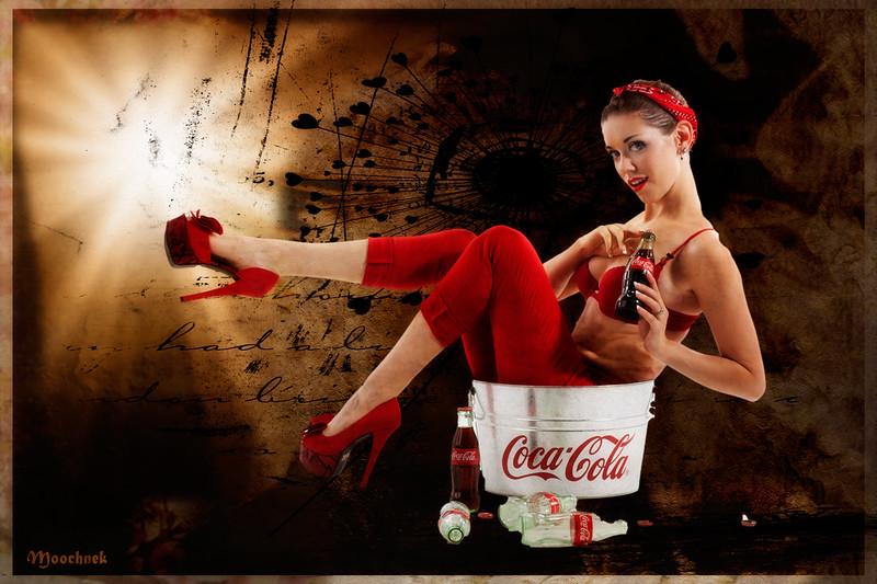 The Coca Cola girl...
