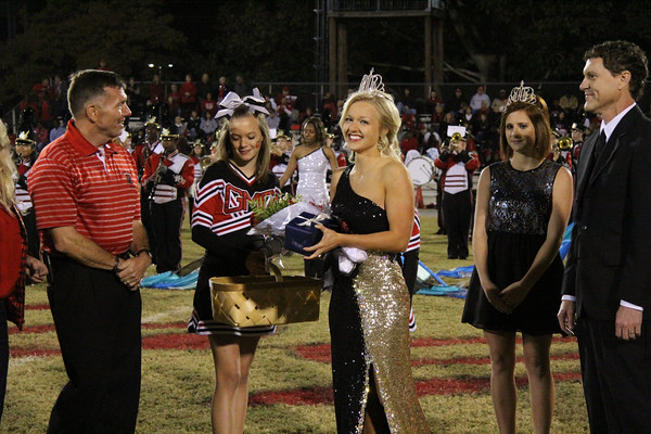 GMC Prep football Homecoming 2014