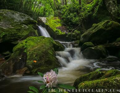 Bear Creek Lake N.C. 6-28-15 Waterfalls & Kayaking adventure.