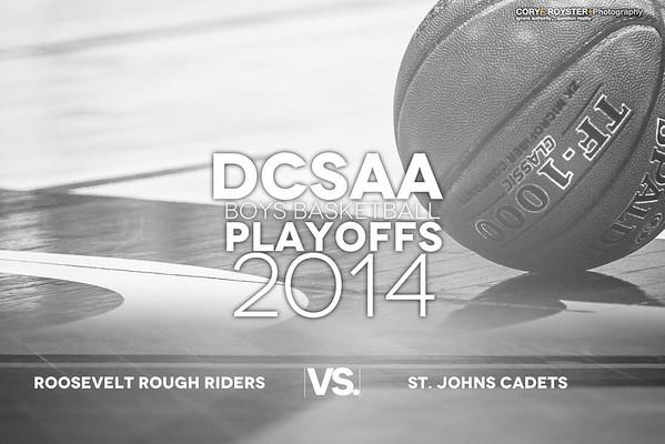 DCSAA Playoffs Boys Roosevelt v St Johns