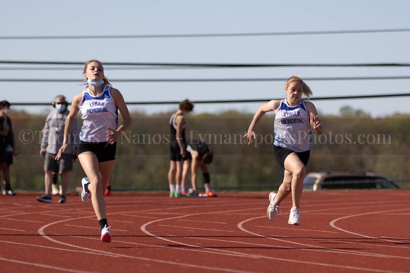 Lyman Memorial High School Track vs Griswold