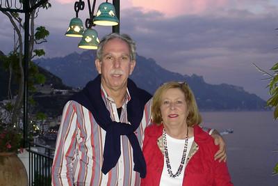 Amalfi, end of trip, Santa Catarina Hotel