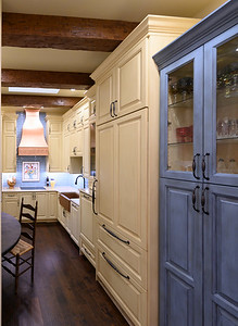 French Country Universal Design Kitchen