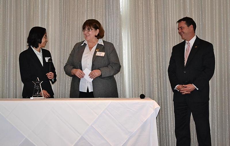 Oanh Nguyen, Homewood Library's Admin_ Asst_ wins City Employee of the Year 2012 #5.jpg