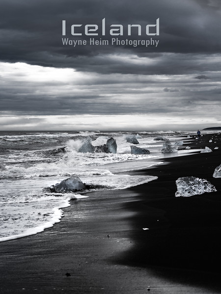 Coastline  Black and White Photography by Wayne Heim