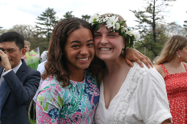 Commencement: Celebrating on the Quad