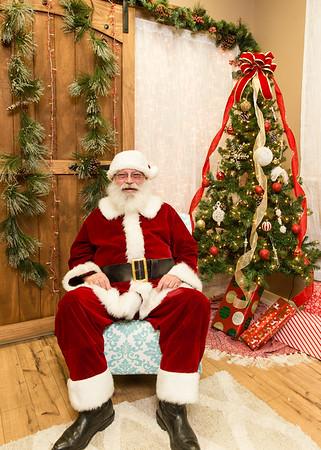 Delong Family Chiropractic Santa Pics