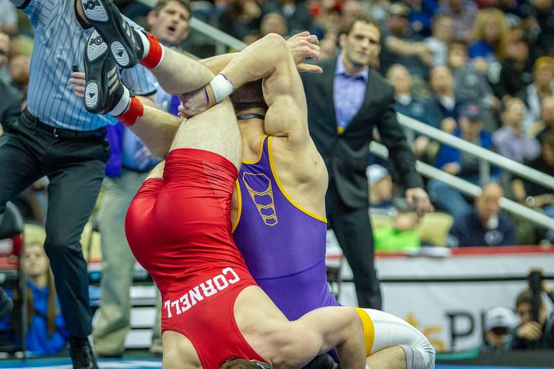 184# Final - 1st: Drew Foster (Northern Iowa) dec. Max Dean (Cornell), 6-4