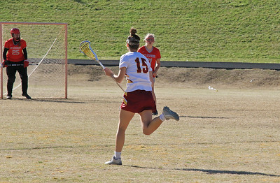 Hickory Lady Red Tornadoes Lacrosse vs St Stephens Indians 4-19-2018