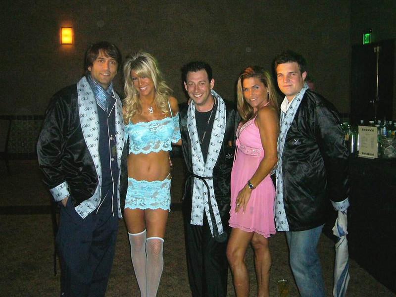 Cindy,Me, Vincent Spanos & the Entourage Boys.jpg