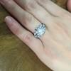 1.95ct Old European Cut Diamond Art Deco Ring, GIA L SI1 5