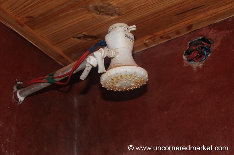 Electric Shower Head - Concepcion, Paraguay