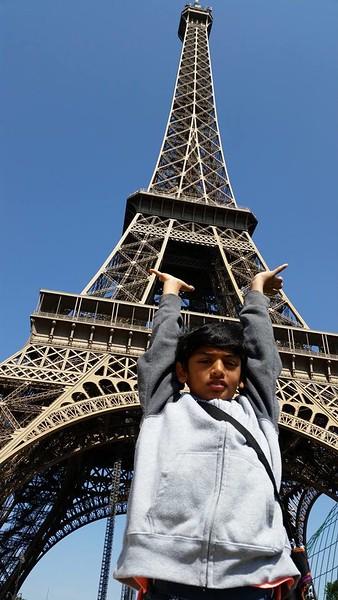 2014 Paris and  Uk