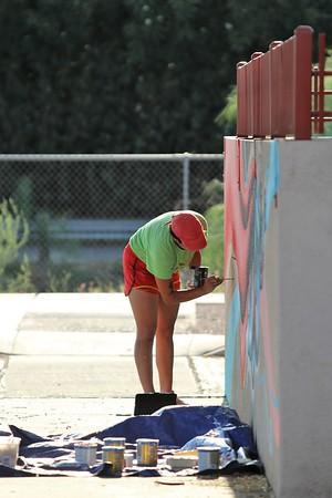 2020 Camila Bulldogs Mural