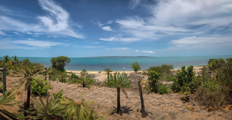 The view from Room 202 at Groote Eylandt Lodge