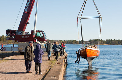 Boat launching 2010