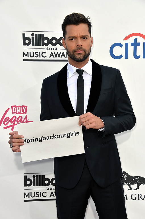. Singer Ricky Martin attends the 2014 Billboard Music Awards at the MGM Grand Garden Arena on May 18, 2014 in Las Vegas, Nevada.  (Photo by Frazer Harrison/Getty Images)
