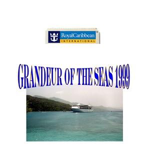 Cruise - Grandeur  Of The Seas  1999