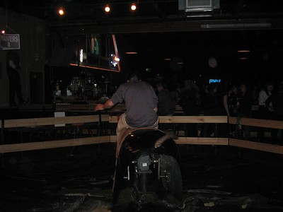 2005.01.21 Friday - Country line dancing and mech. bull riding @ The Saddlerack in Fremont