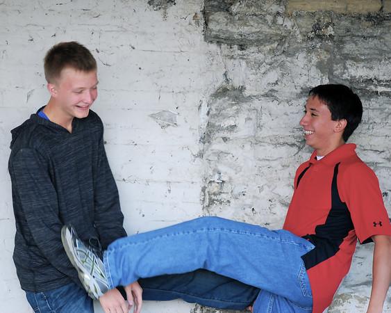 Jacob and Matt pics