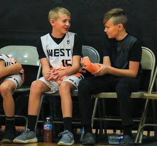 West 6th Grade Basketball 2019-20