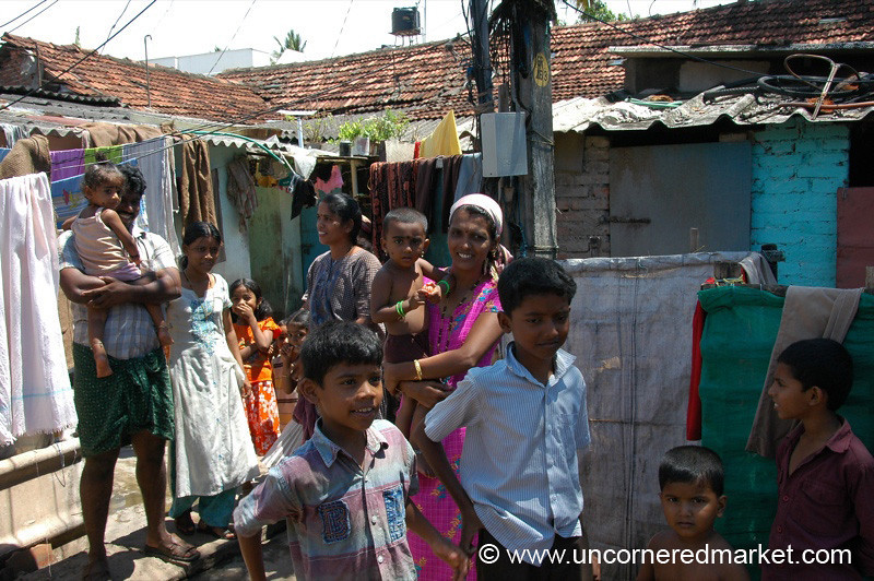 Life in the Courtyard - Kochi, India