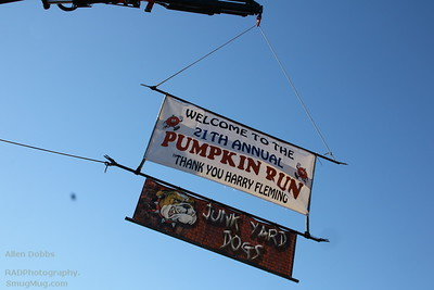 21st Annual Pumpkin Run at Flemings 11-5-2016