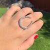 1.60ctw Horseshoe Conversion Ring 43