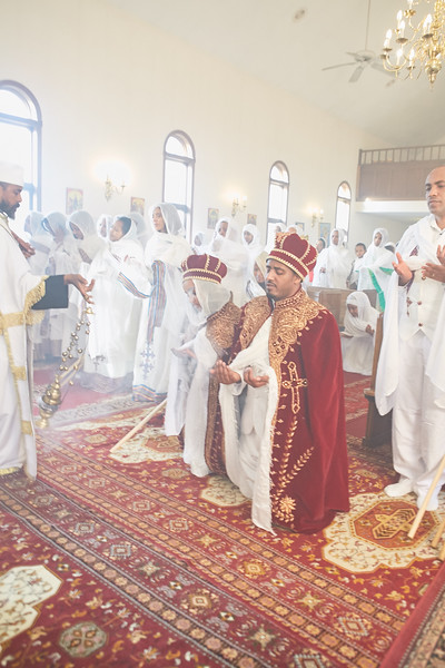 Mekdes & Arega Wedding 1 Church