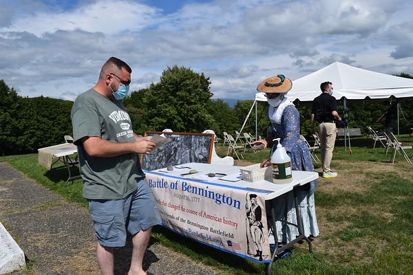 bennington battlefield ceremony 081620