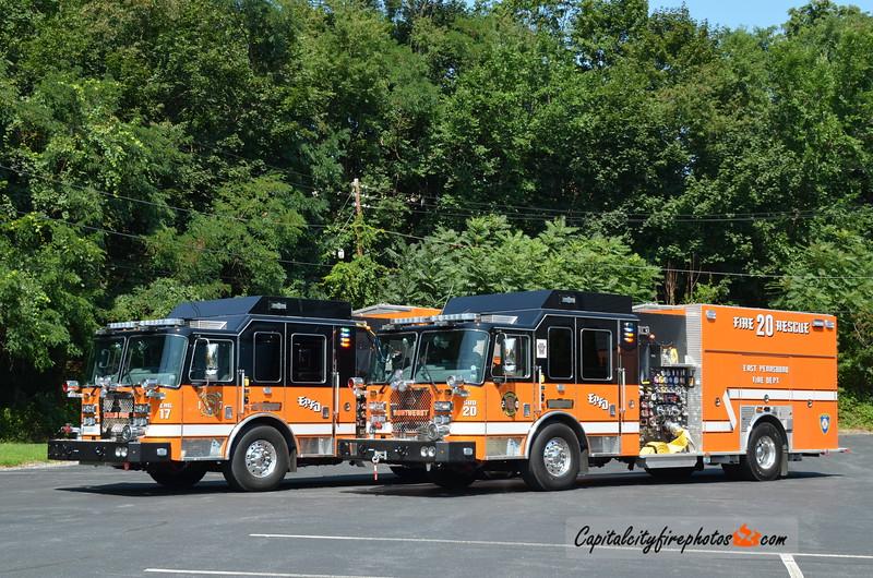 East Pennsboro Township Engine 17 (Enola) & Squad 20 (Northeast Fire & Rescue): 2017 KME Predator