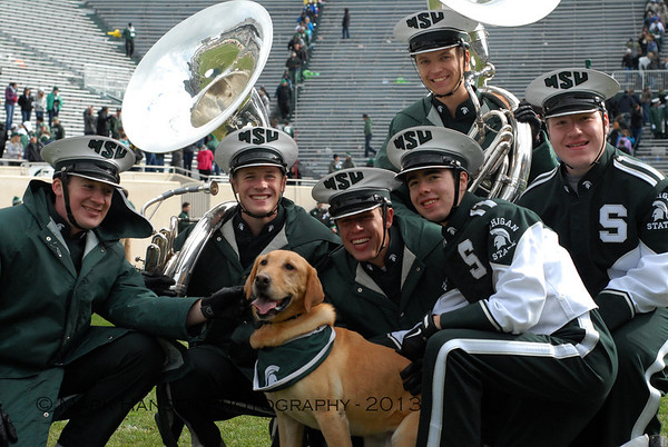 Spartan Marching Band 2013