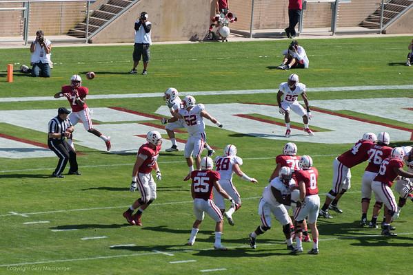 Stanford Spring Football