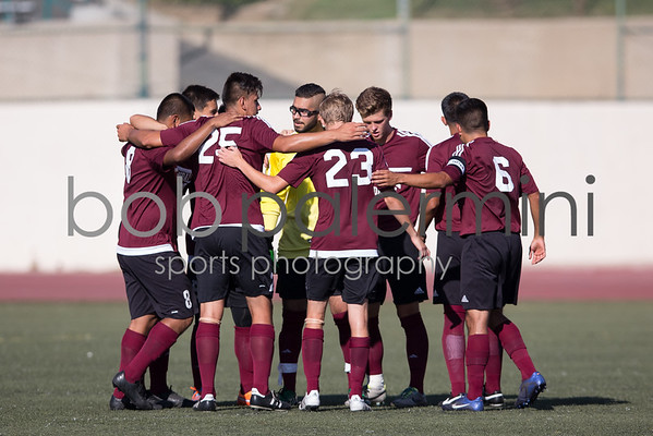 GCC Men's Soccer vs Irvine Valley College 8-28-15