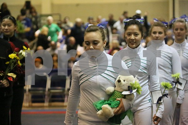 2014-02-22 Woodinville HS Gymnastics at State